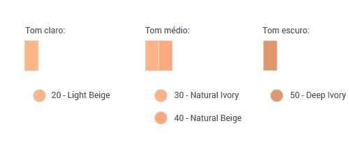 Escala de Tom SHISEIDO PURENESS MATIFYING COMPACT