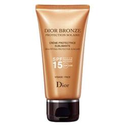 Protetor Solar Dior Bronze Crème Protectrice Sublimante Visage SPF 15 50 ml