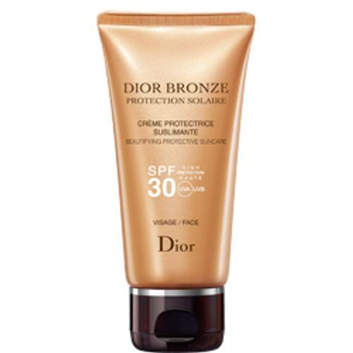 Protetor Solar Dior Bronze Crème Protectrice Sublimante Visage SPF 30 50 ml
