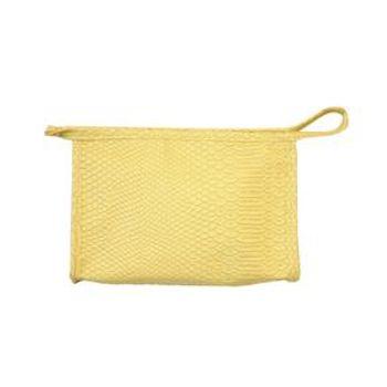 moda-feminino-pash-necessaire-pequena-cobra-amarela