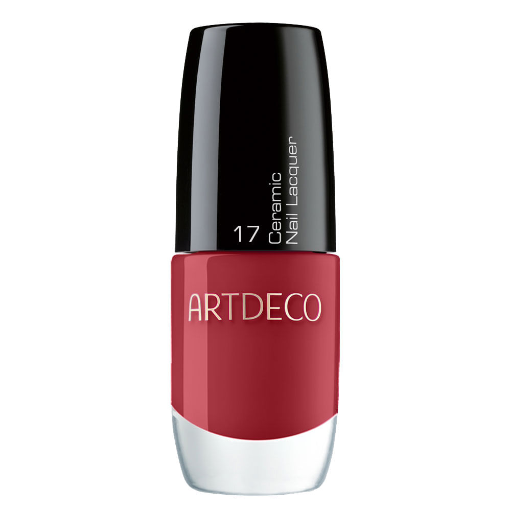 Esmalte Artdeco Ceramic Nail Lacquer True Red - 6 ml
