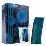 Kit-Kenzo-Homme-Eau-de-Toilette-Masculino---EDT-100-ml---Mini-EDT-15-ml---After-Shave-50-ml