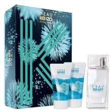 Kit-L-eau-Kenzo-Eau-de-Toilette-Feminino---EDT-50-ml---Shower-Gel-Perfumed-50-ml---Body-Gel-50-ml