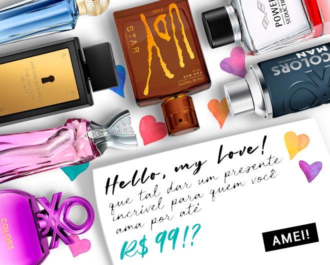 [Perfumes até R$ 99]