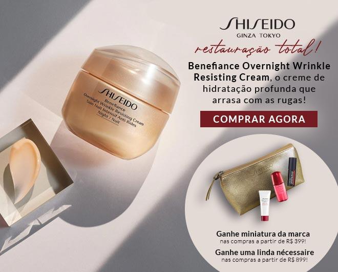 [Shiseido Overnight no ShopLuxo]