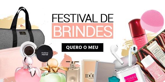 Festival de Brindes no ShopLuxo