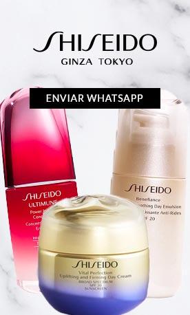 Consultoria Shiseido WhatsApp no ShopLuxo