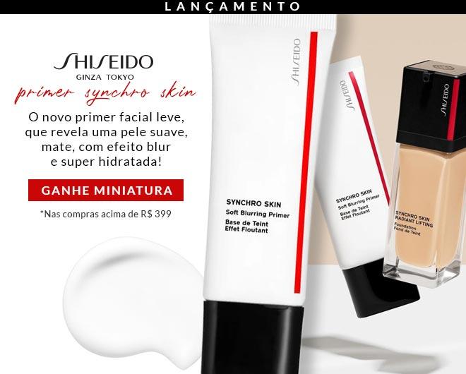 [Primer Shiseido Synchro Skin no ShopLuxo]