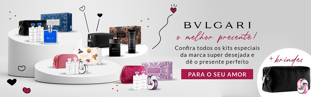 [Kits Bvlgari no ShopLuxo]