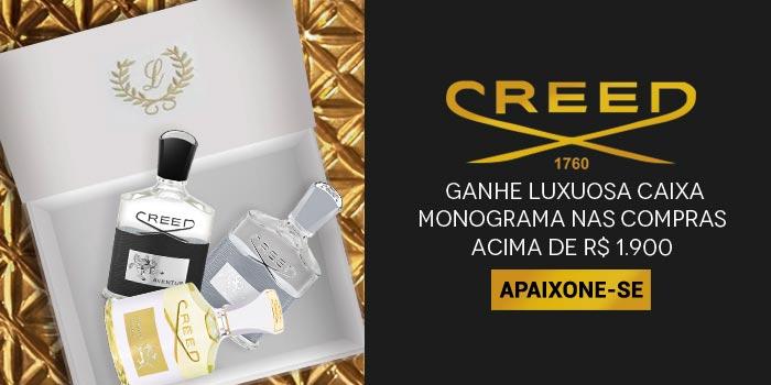 Creed no ShopLuxo - Ganhe Caixa Monograma Exclusiva