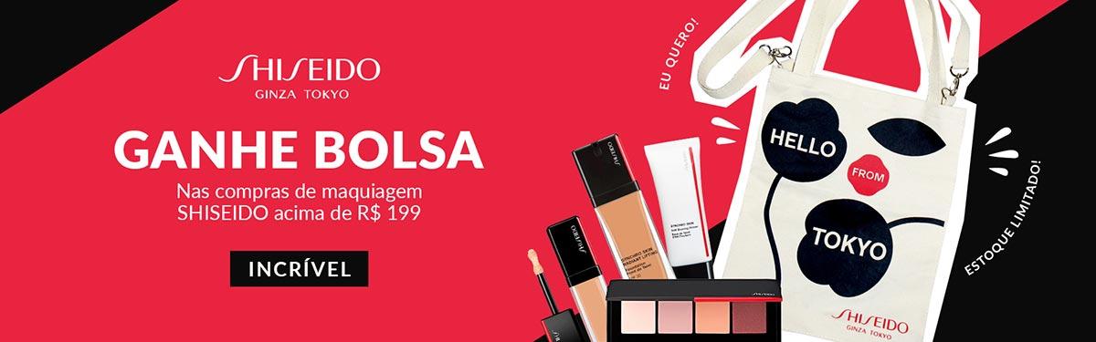 [Maquiagem Shiseido no ShopLuxo]