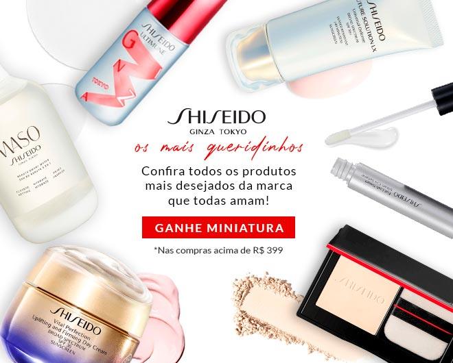 [Queridinhos Shiseido no ShopLuxo]