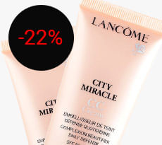 CC CREAM LANCÔME CITY MIRACLE