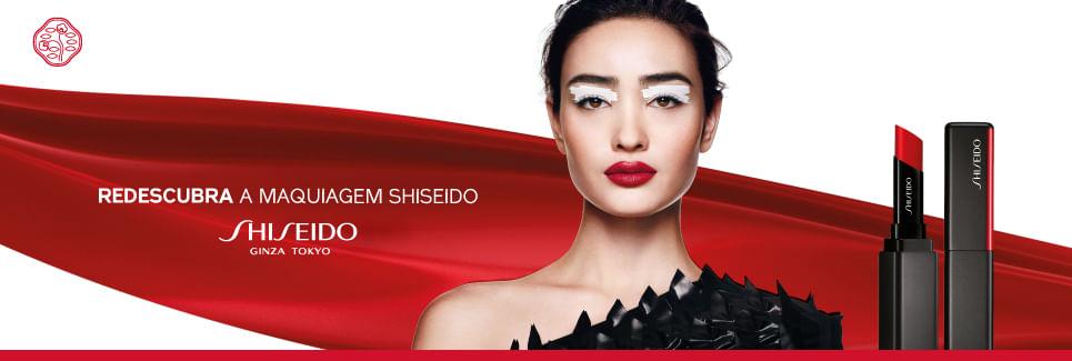 Redescubra a maquiagem Shiseido