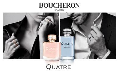 Perfume Boucheron Quatre - Perfumes Feminino e Masculino