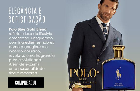 Elegancia e Sofisticação Polo Blue Gold Blend