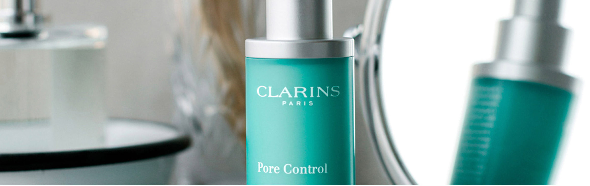 [Banner Clarins Pore Control]
