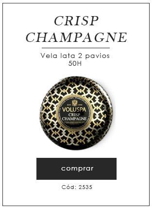 [Vela lata 2 pavios - Crisp Champagne]