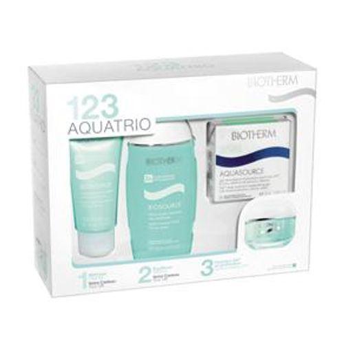 presentes-feminino-biotherm-kit-aquatrio-biosource-peau-mixte