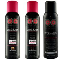 Colour-Hair-AnaSuil-Loiros-150ml---Colour-Hair-AnaSuil-Castanhos-150ml---Dry-Shampoo-150ml-