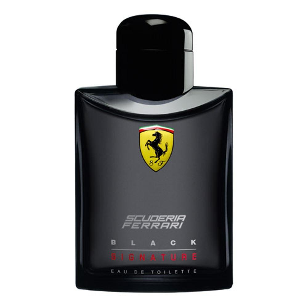 396b12bc6 Scuderia Ferrari Black Signature Eau de Toilette Masculino - 125 ml.  Perfumes Infantis