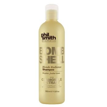 BombShell-Blond-Radiance-Phil-Smith---Shampoo-para-Cabelos-Louros-ou-Grisalhos---350ml