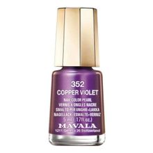 Esmalte Mavala Mini Color - 352 Copper Violet