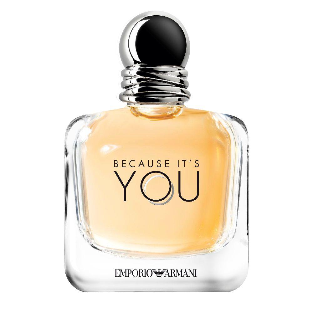 2b27d481fa2 Because It s You Emporio Armani Eau de Parfum Feminino - Perfume ...