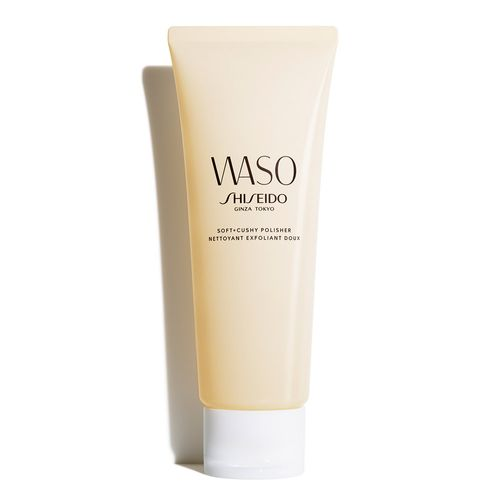 Esfoliante-Suave-Facial-Shiseido-WASO-Soft---Cushy-Polisher-75-ml