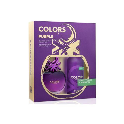 8433982012457-Kit-Benetton-Colors-Purple-Eau-de-Toilette-Feminino---EDT-80-ml---Body-Spray-150-ml