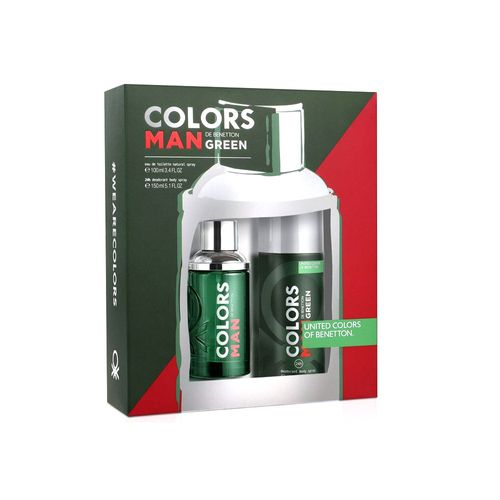 Kit-Benetton-Colors-Man-Green-Eau-de-Toilette-Masculino---EDT-100-ml---Body-Spray-24h---150-ml-8433982012624