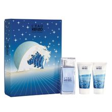 Kit-L-Eau-Kenzo-Eau-de-Toilette-Masculino---EDT-50-ml---2-Unid.-Hair---Body-Shower-Gel-50-ml