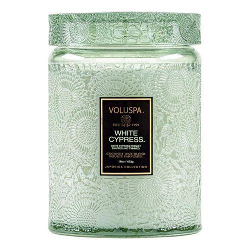 vela-voluspa-pote-vidro-grande-white-cypress-100h