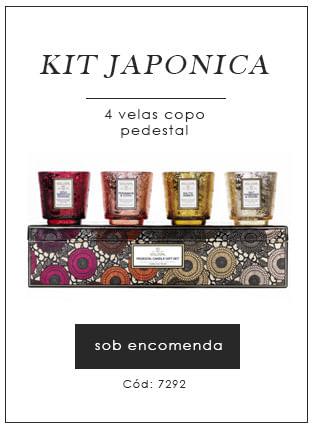 [Kit Japonica 4 velas copo - voluspa]