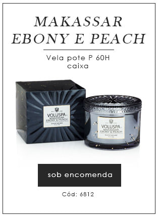 [Makassar Ebony e Peach Vela Pote - Voluspa]