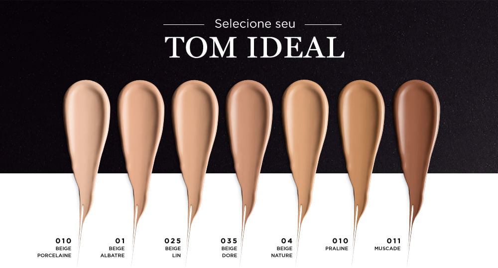 Selecione seu Tom Ideal