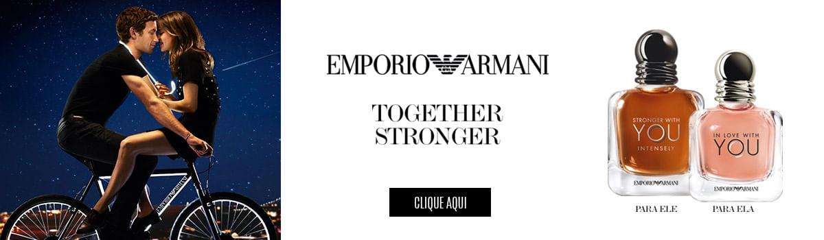 [Emporio Armani - Stronger Together]
